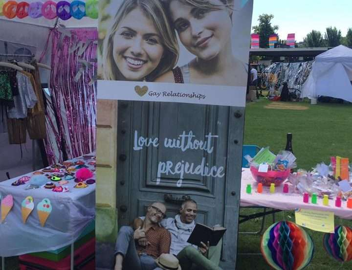 BRIGHTON PRIDE: Gay Relationships Supports Pride
